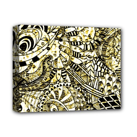 Zentangle Mix 1216a Deluxe Canvas 14  x 11