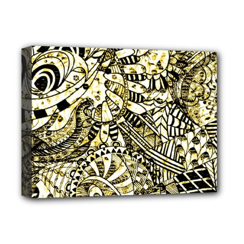 Zentangle Mix 1216a Deluxe Canvas 16  x 12