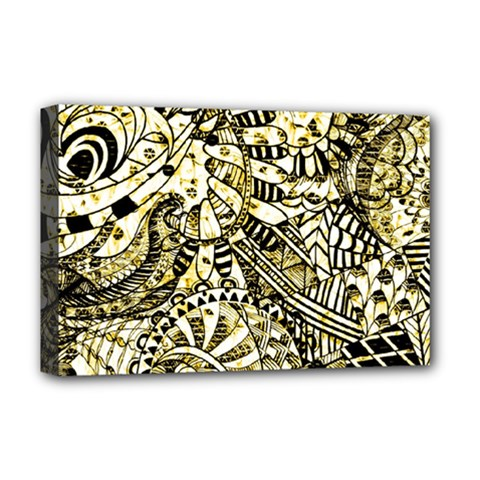 Zentangle Mix 1216a Deluxe Canvas 18  x 12