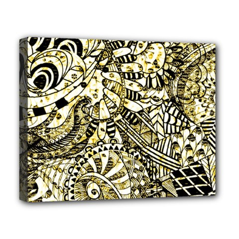 Zentangle Mix 1216a Deluxe Canvas 20  x 16