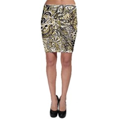 Zentangle Mix 1216a Bodycon Skirt
