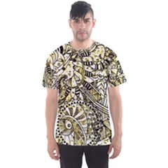Zentangle Mix 1216a Men s Sport Mesh Tee