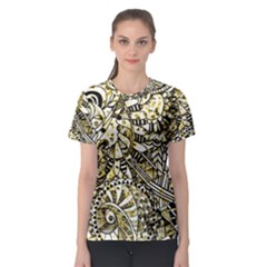 Zentangle Mix 1216a Women s Sport Mesh Tee