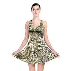 Zentangle Mix 1216a Reversible Skater Dress