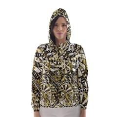 Zentangle Mix 1216a Hooded Wind Breaker (Women)