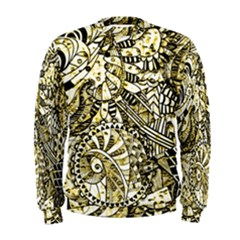 Zentangle Mix 1216a Men s Sweatshirt