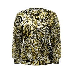 Zentangle Mix 1216a Women s Sweatshirt