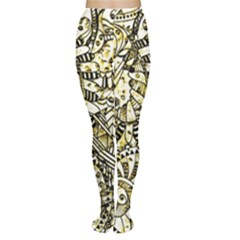 Zentangle Mix 1216a Women s Tights