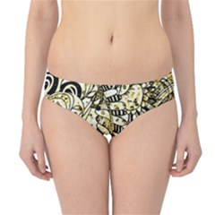 Zentangle Mix 1216a Hipster Bikini Bottoms