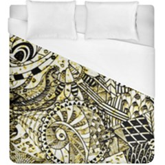 Zentangle Mix 1216a Duvet Cover (King Size)