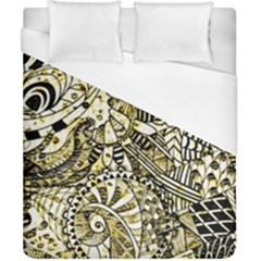 Zentangle Mix 1216a Duvet Cover (California King Size)