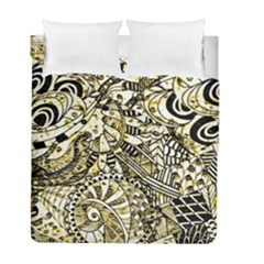 Zentangle Mix 1216a Duvet Cover Double Side (Full/ Double Size)