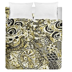 Zentangle Mix 1216a Duvet Cover Double Side (Queen Size)
