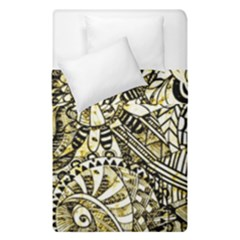 Zentangle Mix 1216a Duvet Cover Double Side (Single Size)