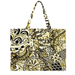 Zentangle Mix 1216a Large Tote Bag