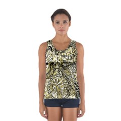 Zentangle Mix 1216a Women s Sport Tank Top