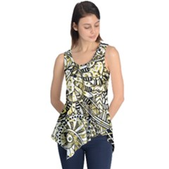 Zentangle Mix 1216a Sleeveless Tunic