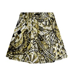 Zentangle Mix 1216a Mini Flare Skirt