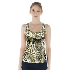 Zentangle Mix 1216a Racer Back Sports Top