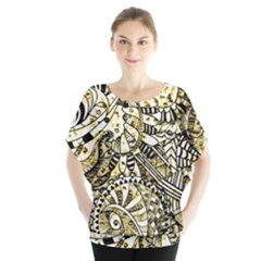 Zentangle Mix 1216a Blouse