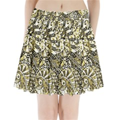 Zentangle Mix 1216a Pleated Mini Skirt