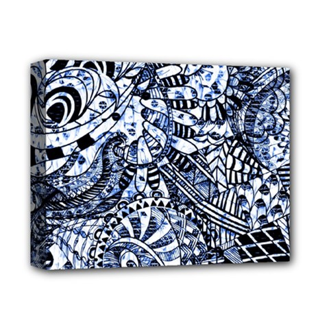 Zentangle Mix 1216b Deluxe Canvas 14  x 11