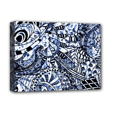 Zentangle Mix 1216b Deluxe Canvas 16  x 12