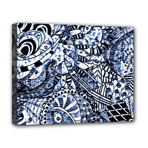 Zentangle Mix 1216b Deluxe Canvas 20  x 16