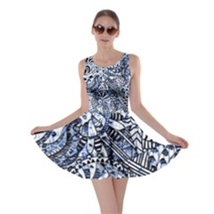 Zentangle Mix 1216b Skater Dress