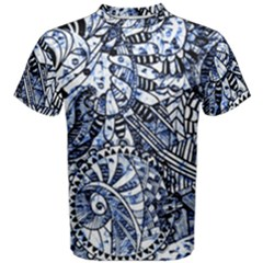 Zentangle Mix 1216b Men s Cotton Tee