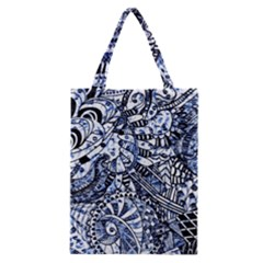 Zentangle Mix 1216b Classic Tote Bag
