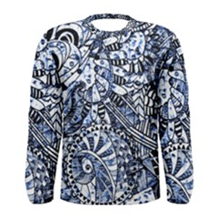 Zentangle Mix 1216b Men s Long Sleeve Tee