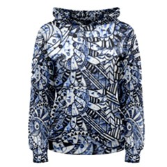 Zentangle Mix 1216b Women s Pullover Hoodie