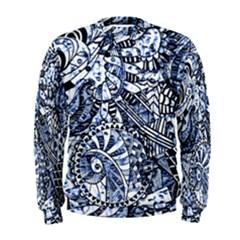 Zentangle Mix 1216b Men s Sweatshirt