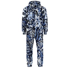 Zentangle Mix 1216b Hooded Jumpsuit (Men)