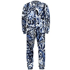 Zentangle Mix 1216b OnePiece Jumpsuit (Men)