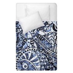 Zentangle Mix 1216b Duvet Cover Double Side (Single Size)