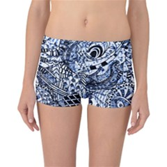 Zentangle Mix 1216b Reversible Bikini Bottoms