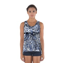 Zentangle Mix 1216b Women s Sport Tank Top