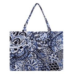 Zentangle Mix 1216b Medium Tote Bag