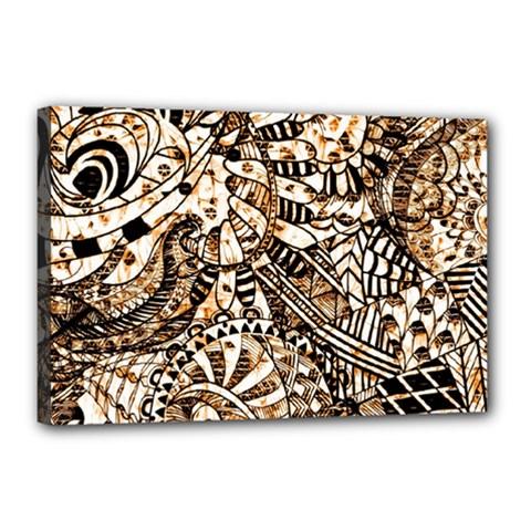 Zentangle Mix 1216c Canvas 18  x 12