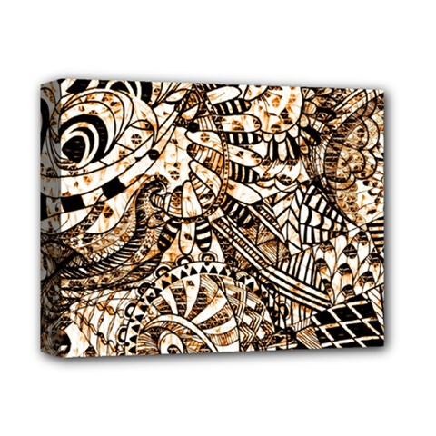 Zentangle Mix 1216c Deluxe Canvas 14  x 11