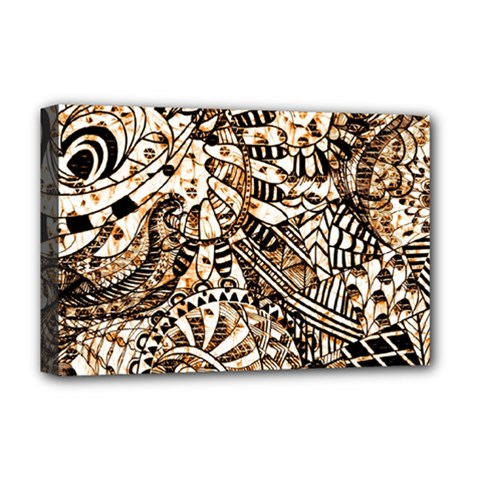 Zentangle Mix 1216c Deluxe Canvas 18  x 12
