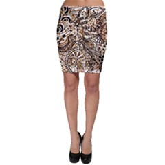 Zentangle Mix 1216c Bodycon Skirt