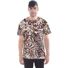 Zentangle Mix 1216c Men s Sport Mesh Tee