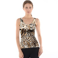 Zentangle Mix 1216c Tank Top