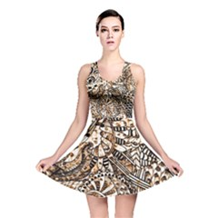Zentangle Mix 1216c Reversible Skater Dress