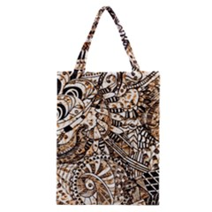 Zentangle Mix 1216c Classic Tote Bag