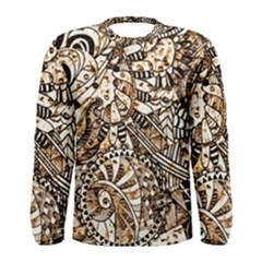 Zentangle Mix 1216c Men s Long Sleeve Tee