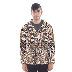 Zentangle Mix 1216c Hooded Wind Breaker (Men)